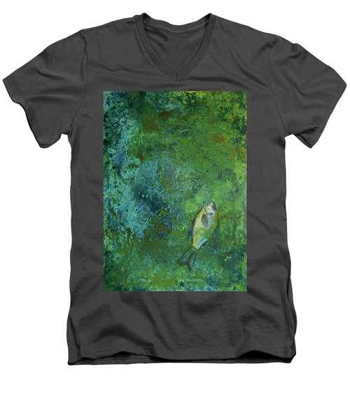 Algae Bloom Men's V-Neck T-Shirt