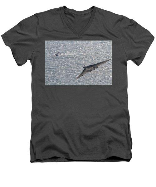Avro Vulcan  Men's V-Neck T-Shirt