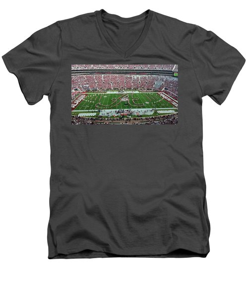 Bama A Panorama Men's V-Neck T-Shirt