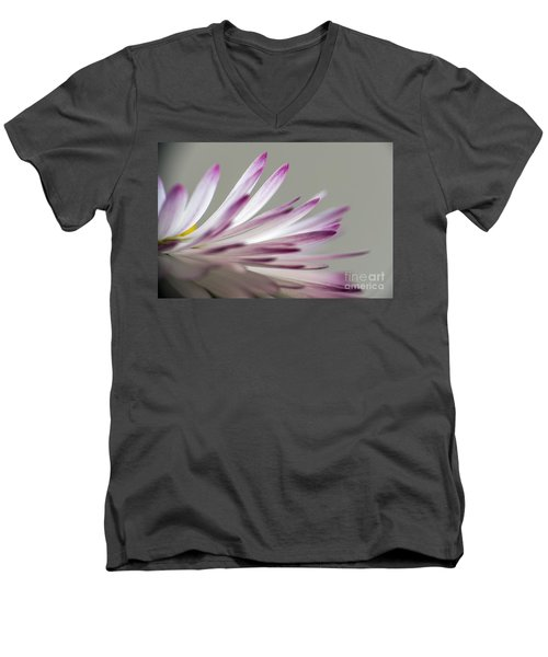 Beautiful Colorful Image About Daisy Flower Men's V-Neck T-Shirt by Odon Czintos