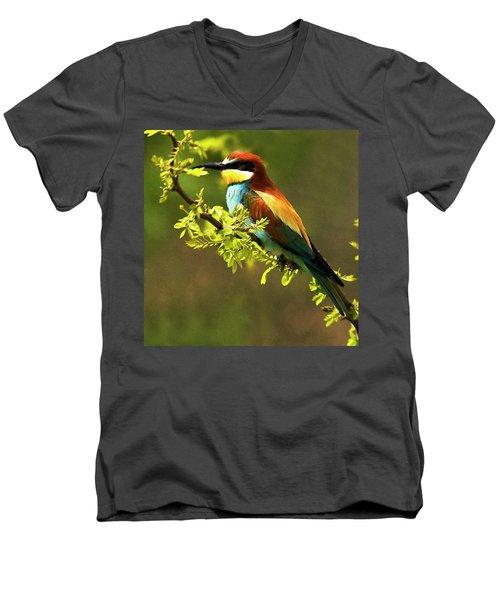 Bee Eater Men's V-Neck T-Shirt