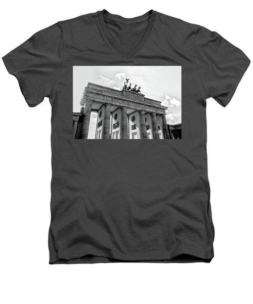 Brandenburg Gate - Berlin Men's V-Neck T-Shirt