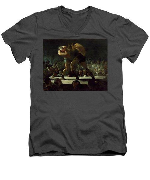 Club Night Men's V-Neck T-Shirt