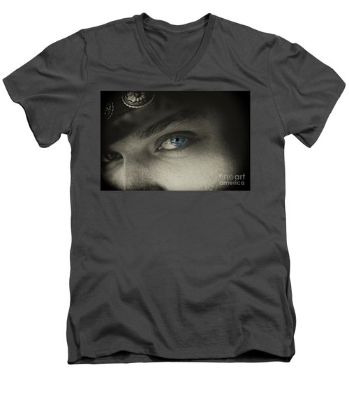 Cowboy Jim Men's V-Neck T-Shirt