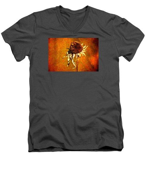 Dead Flower Men's V-Neck T-Shirt