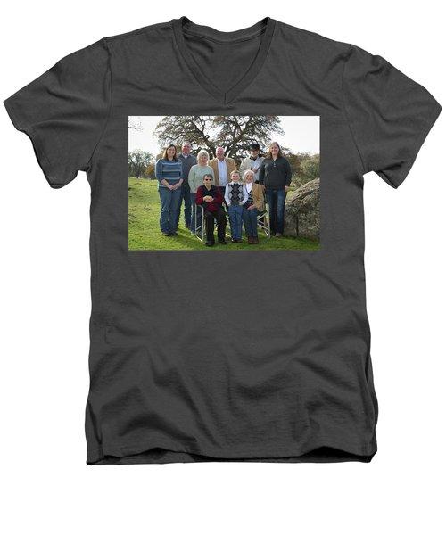 2 Men's V-Neck T-Shirt
