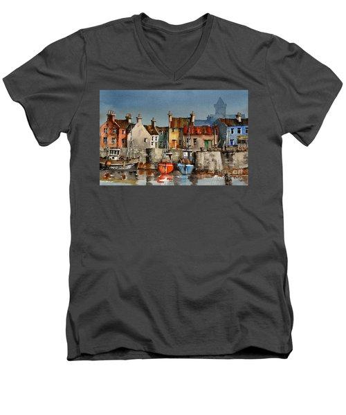 Dingle Harbour, Kerry Men's V-Neck T-Shirt