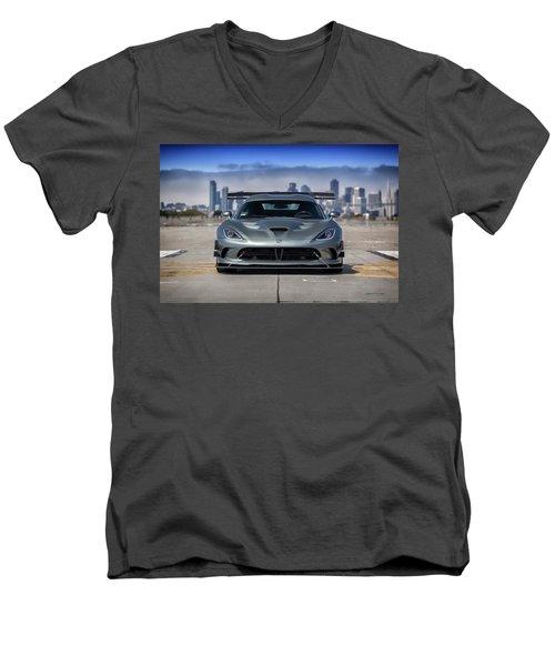 #dodge #acr #viper Men's V-Neck T-Shirt