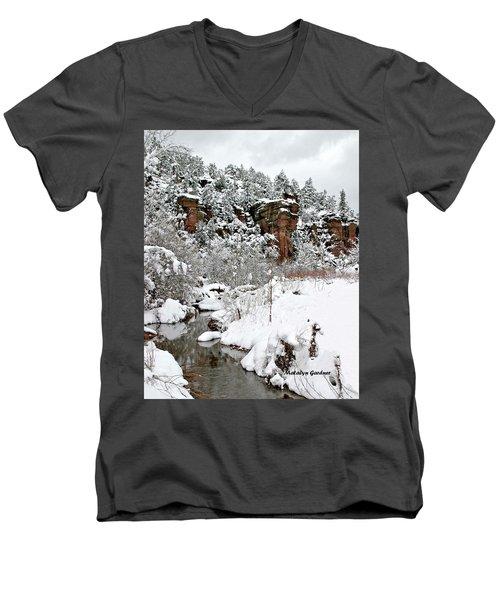 East Verde Winter Crossing Men's V-Neck T-Shirt