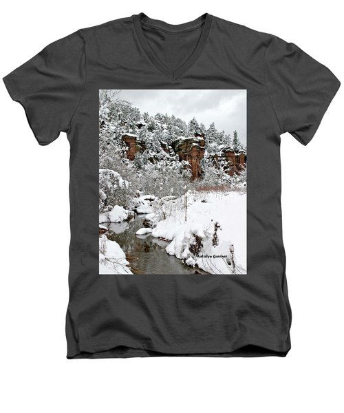 East Verde Winter Crossing Men's V-Neck T-Shirt
