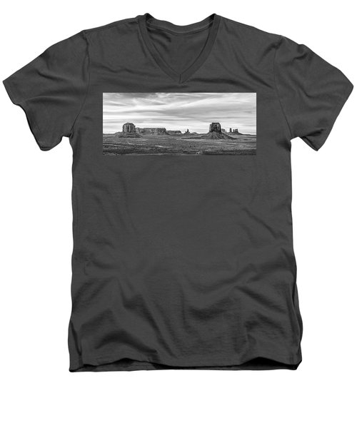 Men's V-Neck T-Shirt featuring the photograph From Artist's Point by Jon Glaser