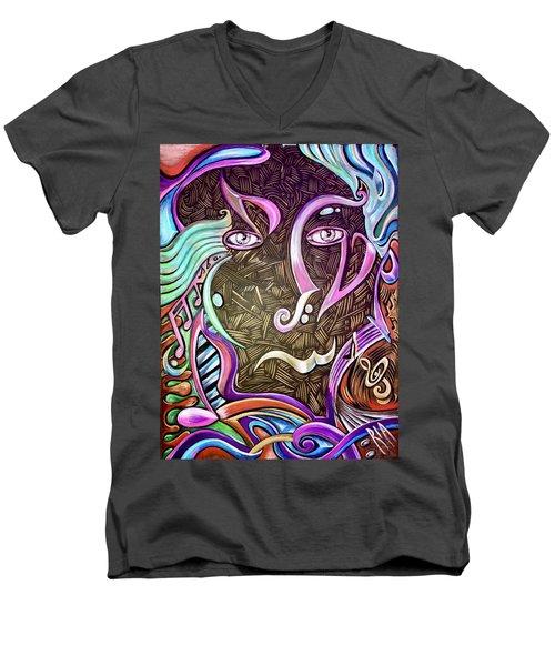 Gifted Men's V-Neck T-Shirt