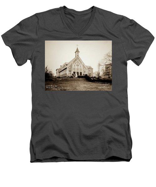 Good Shepherd Men's V-Neck T-Shirt