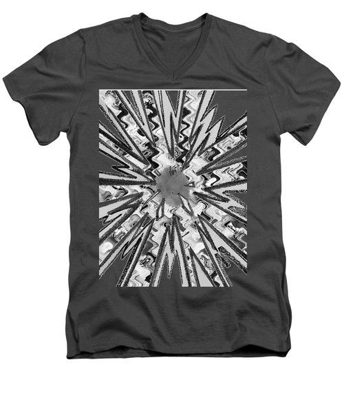 Goodluck Star Sparkles Obtained In Meditative Process Navinjoshi Artist Fineartamerica Pixels Men's V-Neck T-Shirt