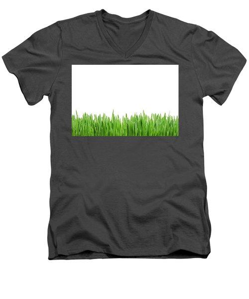 Green Grass Men's V-Neck T-Shirt