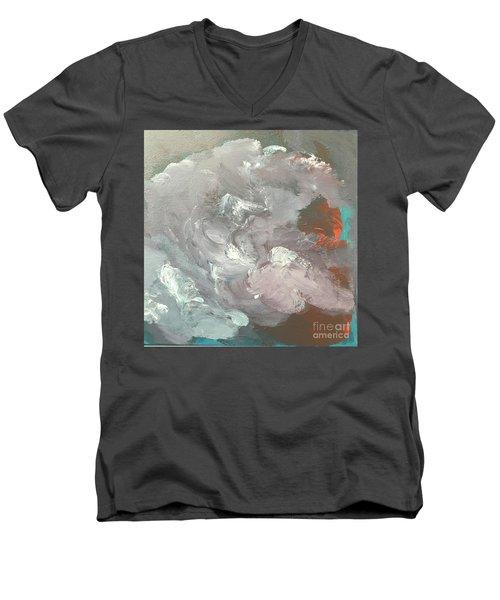 Incoming Men's V-Neck T-Shirt by Karen Nicholson