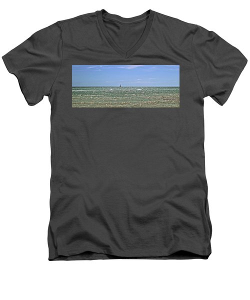 Key West Cover Photo Men's V-Neck T-Shirt by JAMART Photography