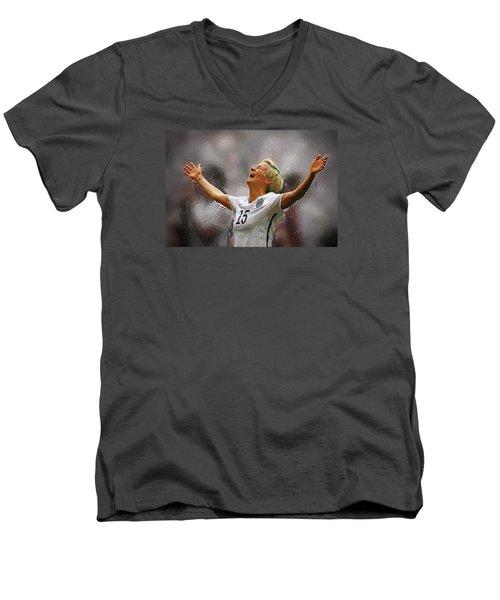 Megan Rapinoe Men's V-Neck T-Shirt
