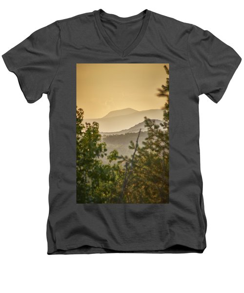 Mountains In The Distance Men's V-Neck T-Shirt