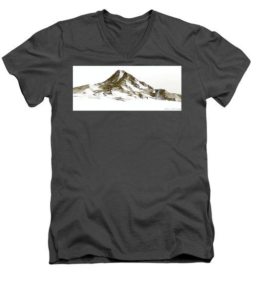 Mt. Hood Men's V-Neck T-Shirt