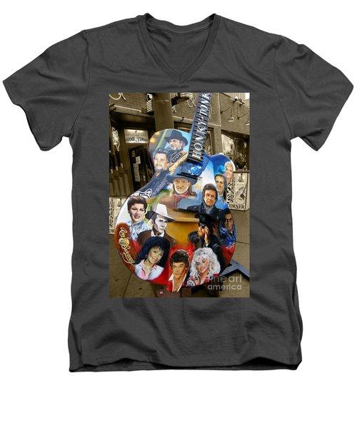 Nashville Honky Tonk Men's V-Neck T-Shirt