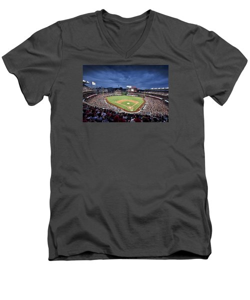 Nats Park - Washington Dc Men's V-Neck T-Shirt by Brendan Reals