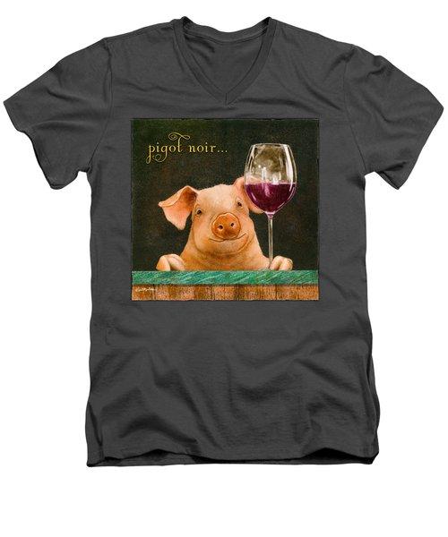 Pigot Noir... Men's V-Neck T-Shirt