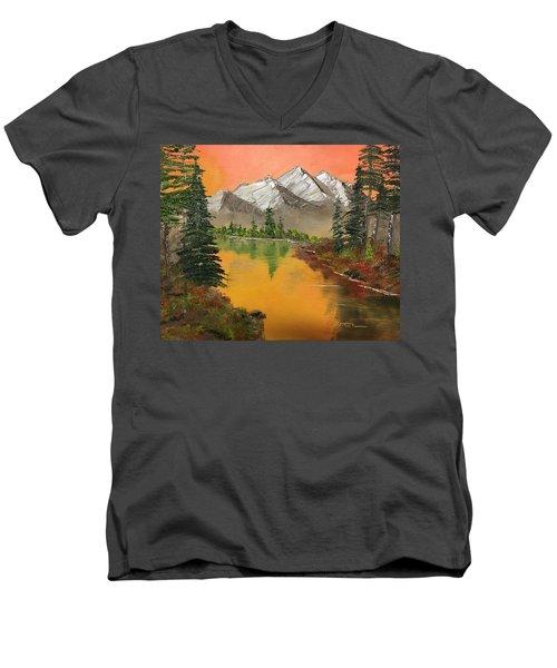Pine Lake Men's V-Neck T-Shirt