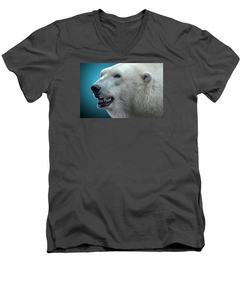 Polar Bear 2 Men's V-Neck T-Shirt