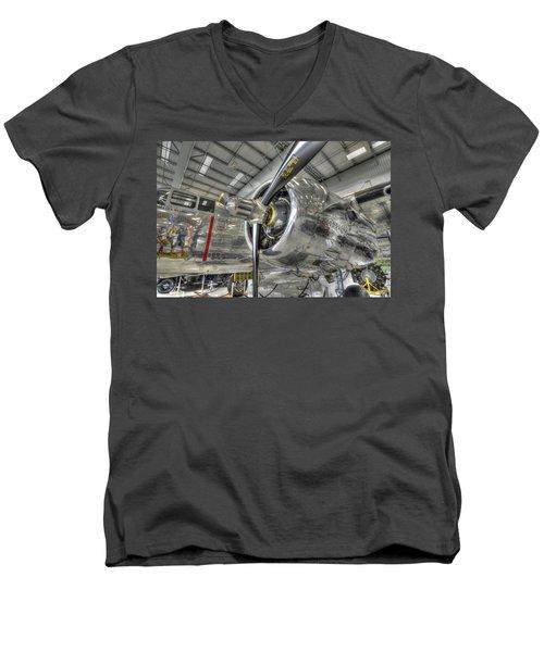 Power Men's V-Neck T-Shirt