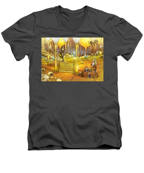 Queen Of The Hive Men's V-Neck T-Shirt