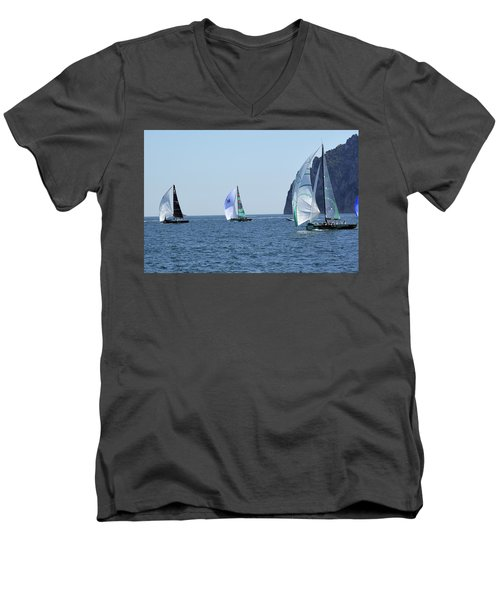 Rolex Capri Sailing Week 2014 Men's V-Neck T-Shirt