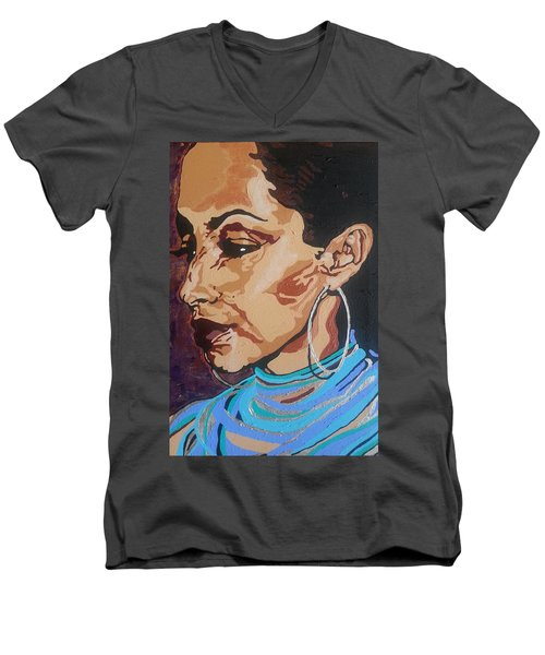 Sade Adu Men's V-Neck T-Shirt