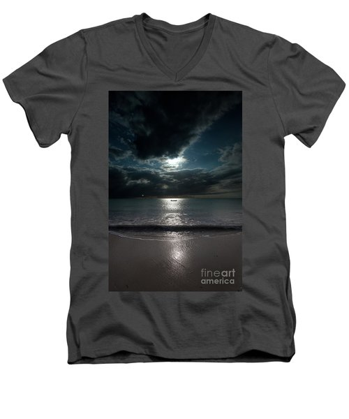 Sea And Clouds Men's V-Neck T-Shirt