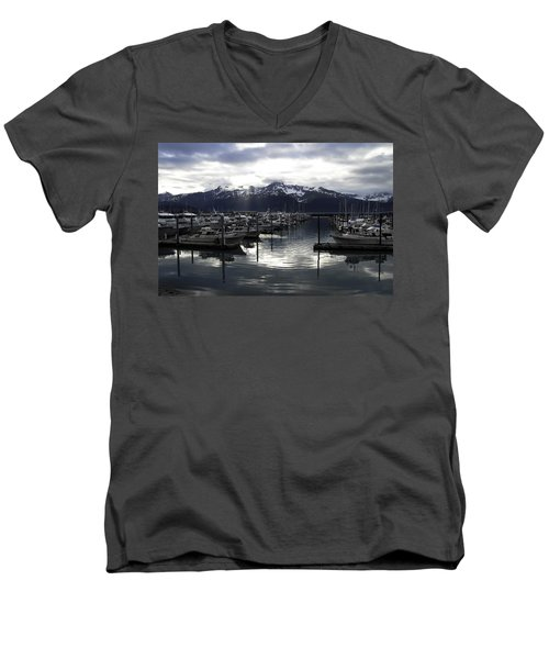 Seward Harbor Men's V-Neck T-Shirt