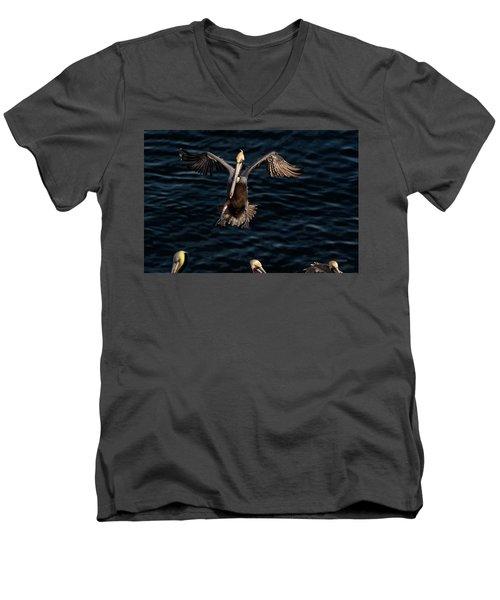 Short Final Men's V-Neck T-Shirt by James David Phenicie