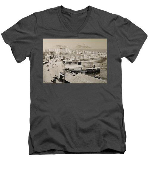 Sliema Ferries  1940 Men's V-Neck T-Shirt