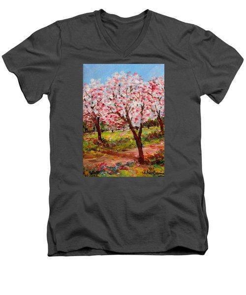 Spring Beauty  Men's V-Neck T-Shirt