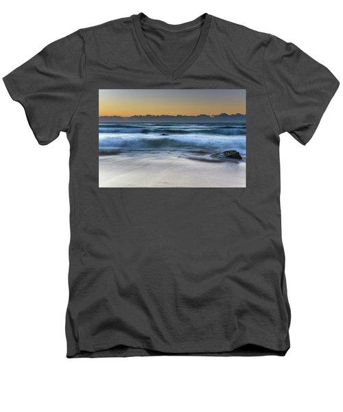 Sunrise By The Sea Men's V-Neck T-Shirt