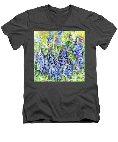 Texas Blues  Men's V-Neck T-Shirt