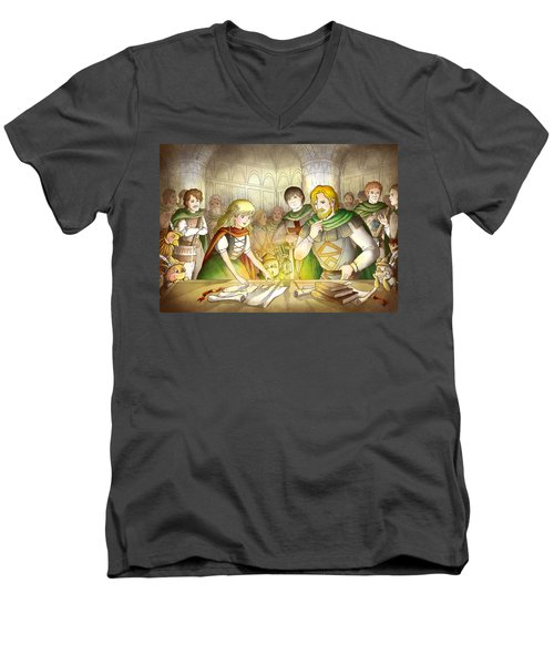 The Articles Of The Barons Men's V-Neck T-Shirt by Reynold Jay