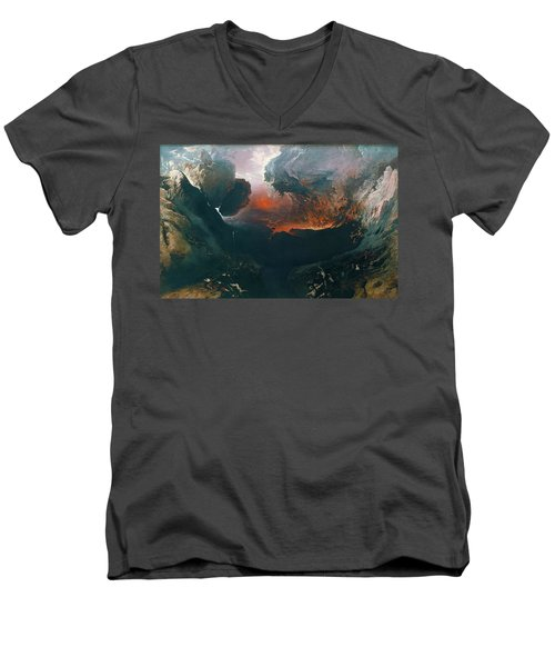 The Great Day Of His Wrath Men's V-Neck T-Shirt