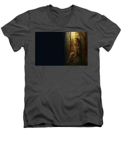 The Legend Of Zelda Men's V-Neck T-Shirt