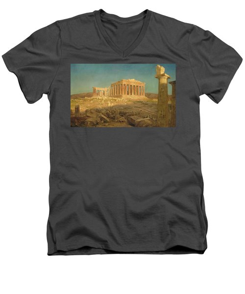 The Parthenon Men's V-Neck T-Shirt