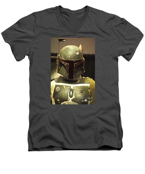 The Real Boba Fett Men's V-Neck T-Shirt by Micah May