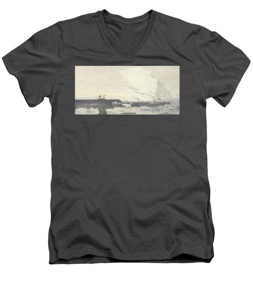 The Stella Polare Men's V-Neck T-Shirt