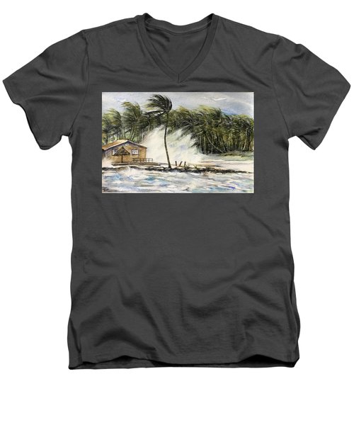 The Storm Men's V-Neck T-Shirt