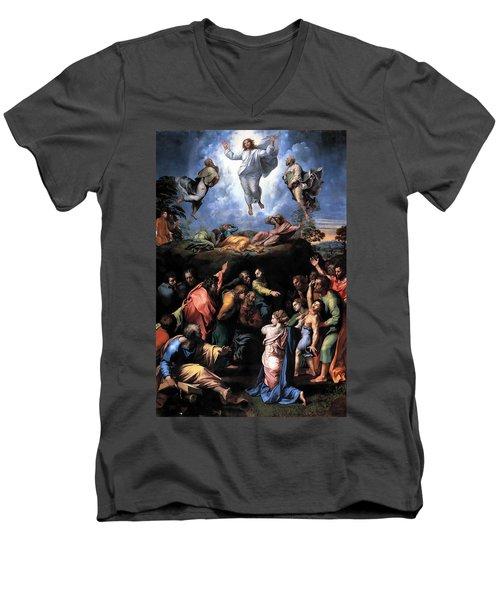 The Transfiguration Men's V-Neck T-Shirt