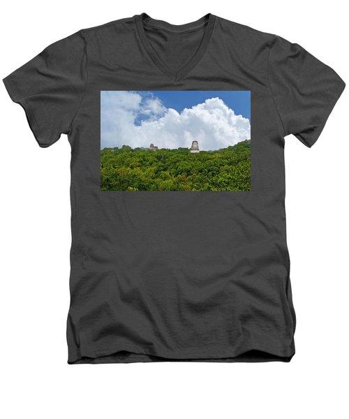 Tikal, Guatemala Men's V-Neck T-Shirt