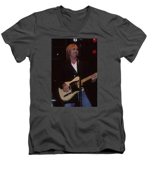 Tom Petty Men's V-Neck T-Shirt